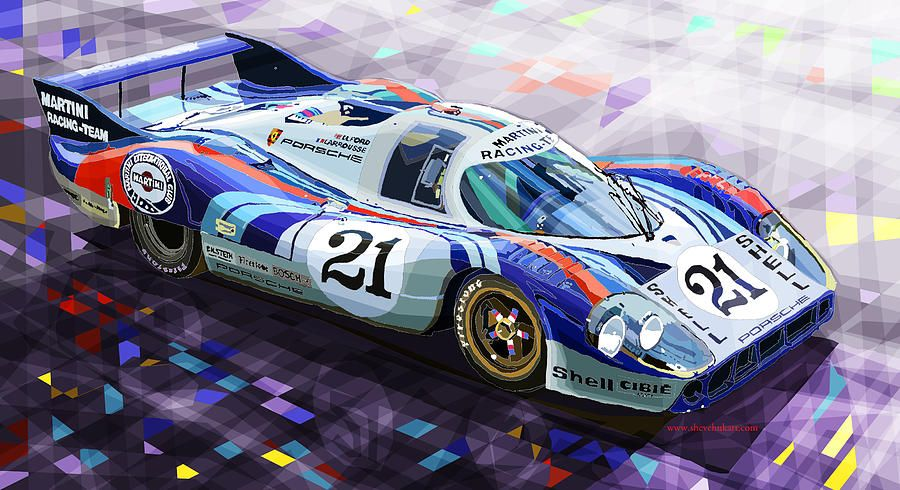 yuriy shevchuk 917 lh larrousse elford 24 le mans 1971 digital art by yuriy shevchuk my. Black Bedroom Furniture Sets. Home Design Ideas
