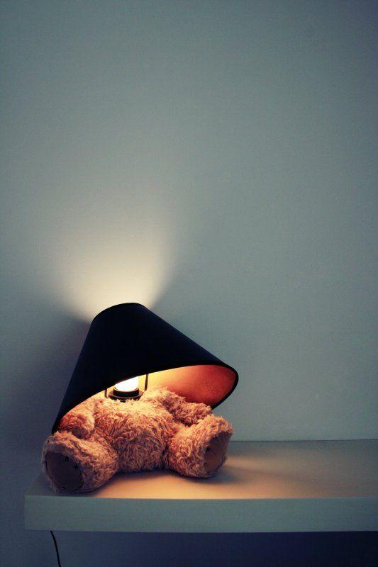 Teddy Bear Lamp - Suck UK #lamp