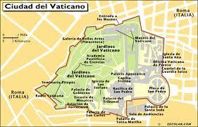 El Mapa Del Vaticano Religion Ciudad Del Vaticano Vaticano