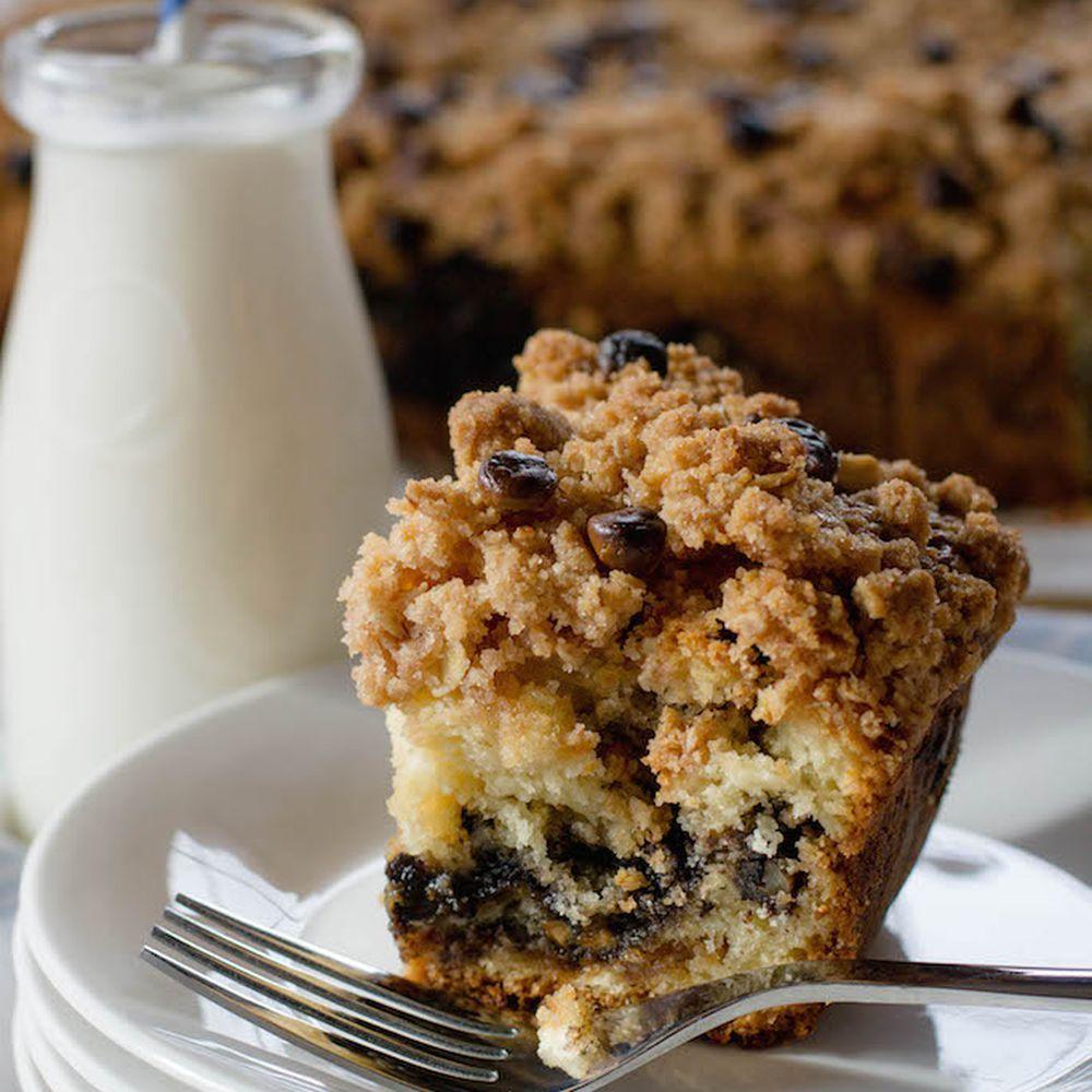 Caramel pecan streusel coffee cake recipe streusel