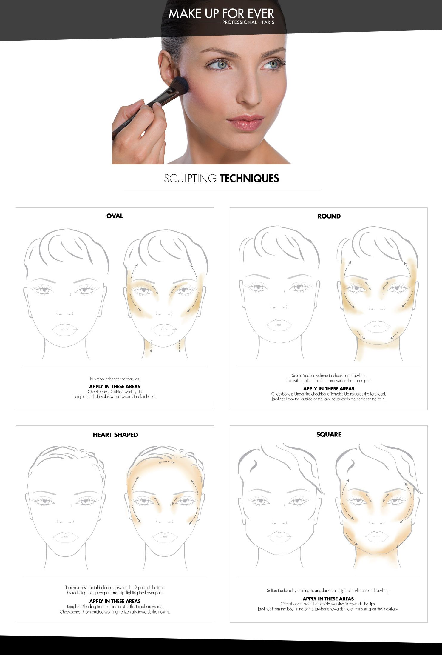 Tips by face shape apply make up for ever sculpting kit 1 on tips by face shape apply make up for ever sculpting kit 1 on oval ccuart Gallery