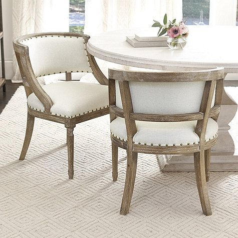 Haynes Dining Chair Ballard Designs Comfortable Dining Chairs Dining Chairs Upholstered Dining Chairs Comfortable dining chairs with arms