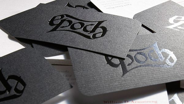 Epoch wines minimalist embossed business card collective non epoch wines minimalist embossed business card reheart Choice Image