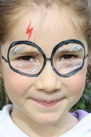 Harry Potter Scar Facepainting