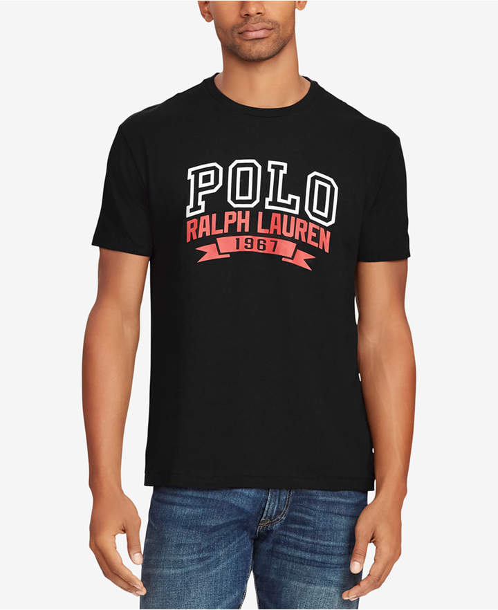 c3561a0a3 Polo Ralph Lauren Men s Graphic Cotton T-Shirt