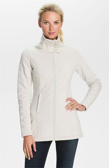 The North Face Caroluna Quilted Fleece Jacket Jackets