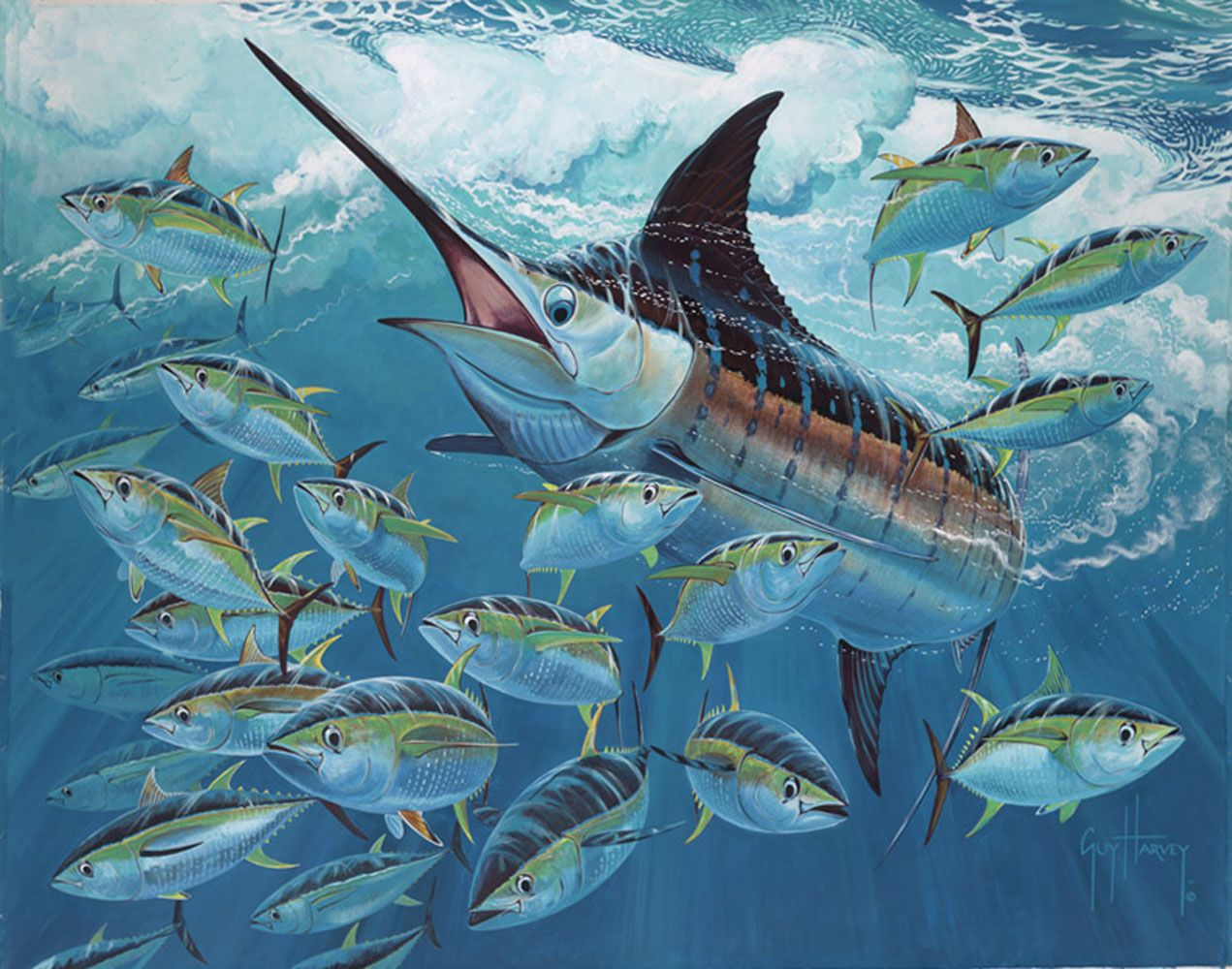 Marlin | GUY HARVEY ARTIST and others well known Artist ...