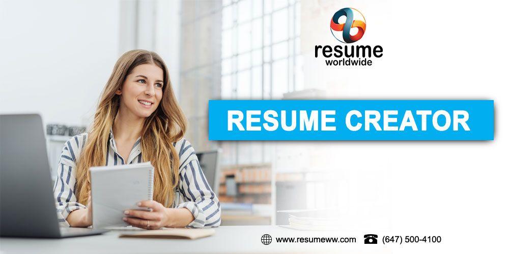 Resume Creator Resume creator, Best resume, Resume
