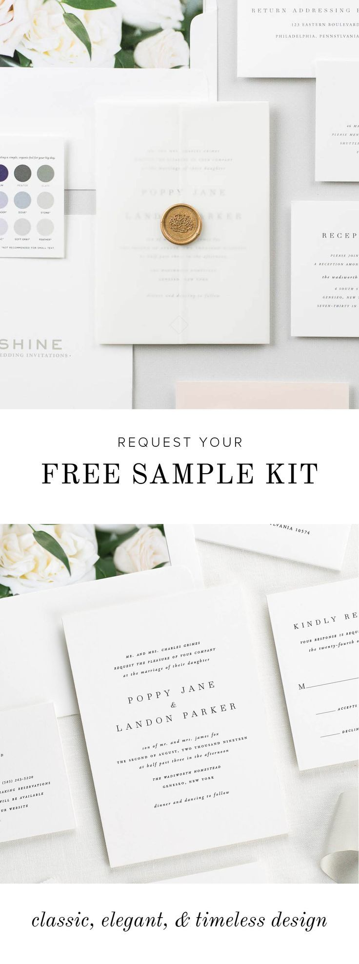 See our paper and colors in person with a free sample kit from Shine ...