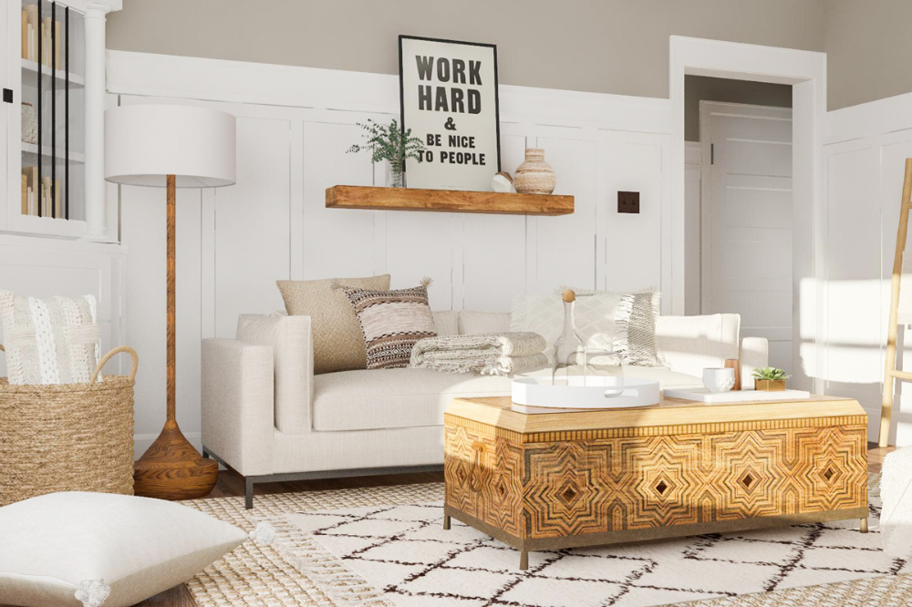 all white living room ideas  how to get the look  modsy