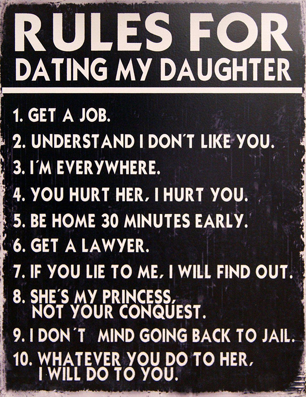 Dating regeln für meine tochter