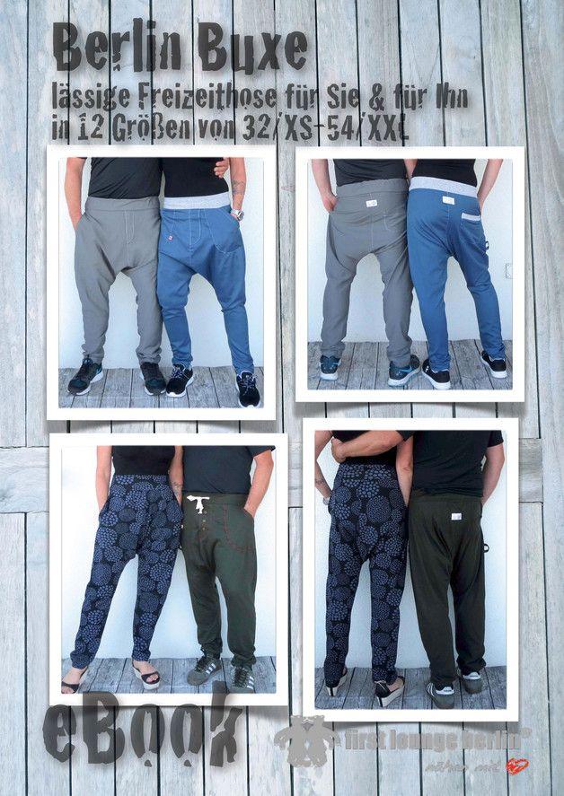 Berlin Buxe♡ ebook Unisex Hose XS-XXL Schnitt | Pinterest ...