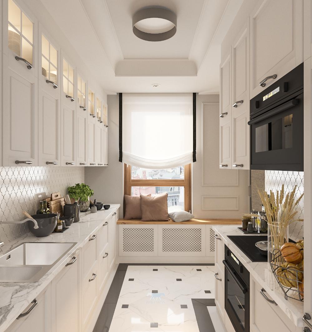 Kuchnia Z Oknem Pomysl Na Aranzacje Ih Internity Home Kitchen Renovation Kitchen Simple House