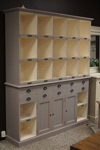 This would be great with baskets or boxes the same size of the openings.