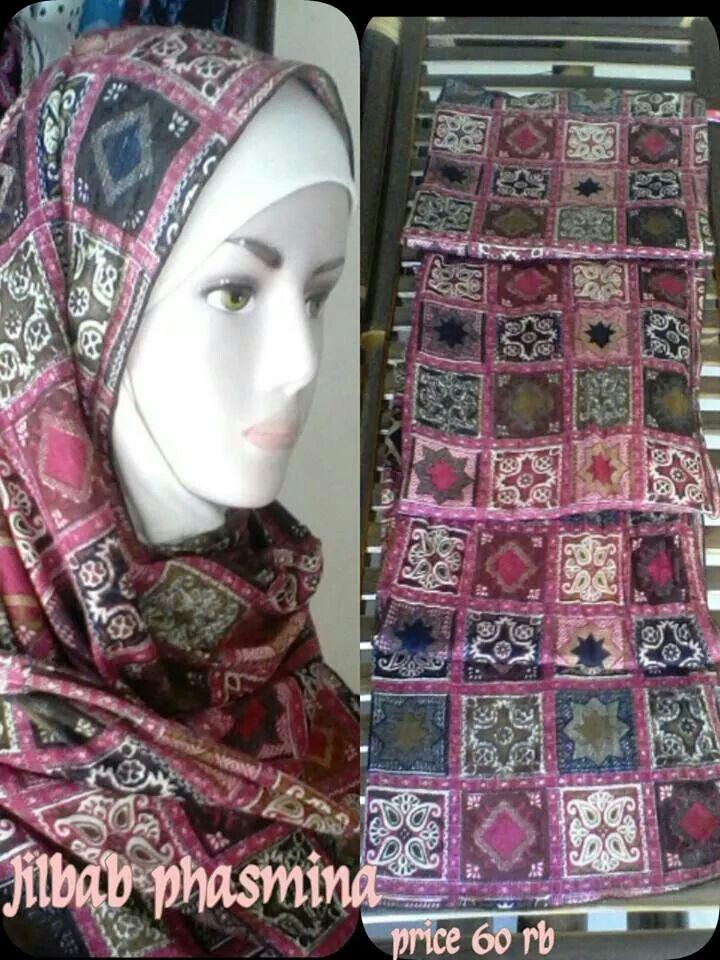 Phasmina hijab,price 60 rb