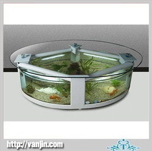 Clear Coffee Table With Acrylic Fish Aquarium Products Buy Clear - Acrylic aquariumfish tank clear round coffee table with acrylic
