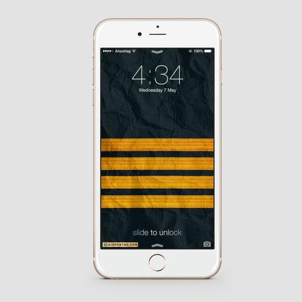 Pilot Stripes Mobile Wallpaper