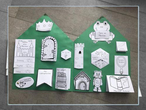 vorlagen m rchen lapbook zaubereinmaleins designblog schule zaubereinmaleins deutsch. Black Bedroom Furniture Sets. Home Design Ideas