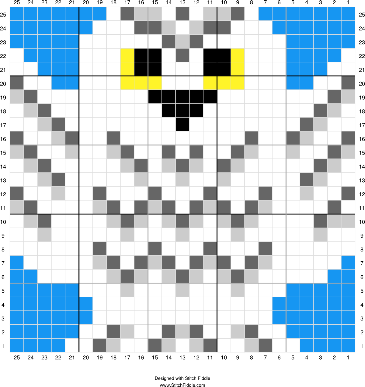 Harry potter hedwig designed by pixitrix kimberly allard stitch fiddle is an online crochet knitting and cross stitch pattern maker bankloansurffo Image collections