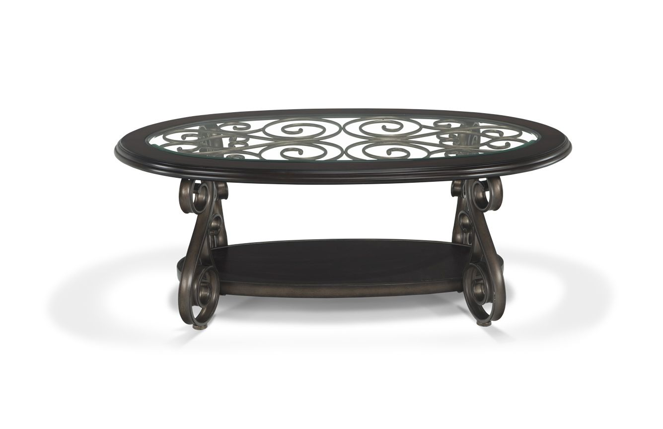 Product Item Coffee Table Coffee And End Tables Traditional Coffee Table [ 864 x 1335 Pixel ]
