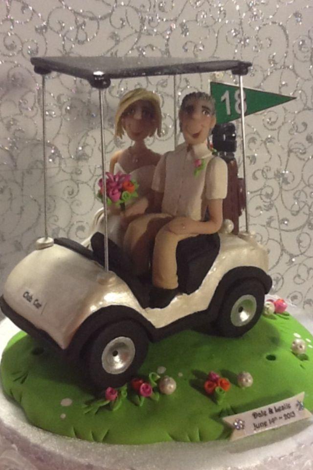 Golf wedding cake topper | Wedding | Pinterest | Wedding, Wedding ...