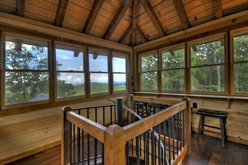 Crow S Nest Wheelchair Accessible Cabin Rental In Blue Ridge Ga Crow S Nest Building A House Cabin Rentals