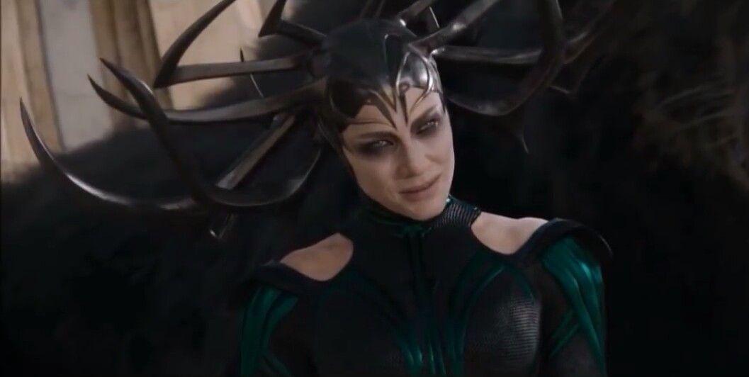 intimidating look of hela thor ragnarok marvel marvel