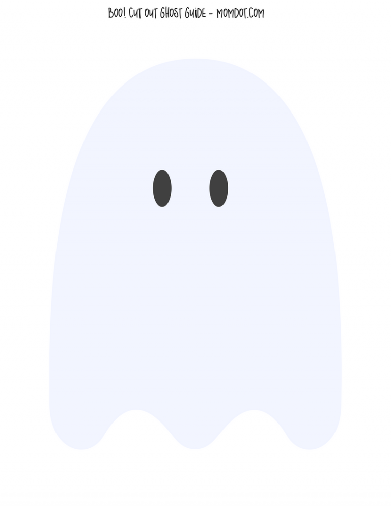 Halloween Crafts Cotton Ball Ghosts With Free Downloadable Ghost Template Free Printable So Fun For Kids Ghost Template Halloween Preschool Hanging Ghosts