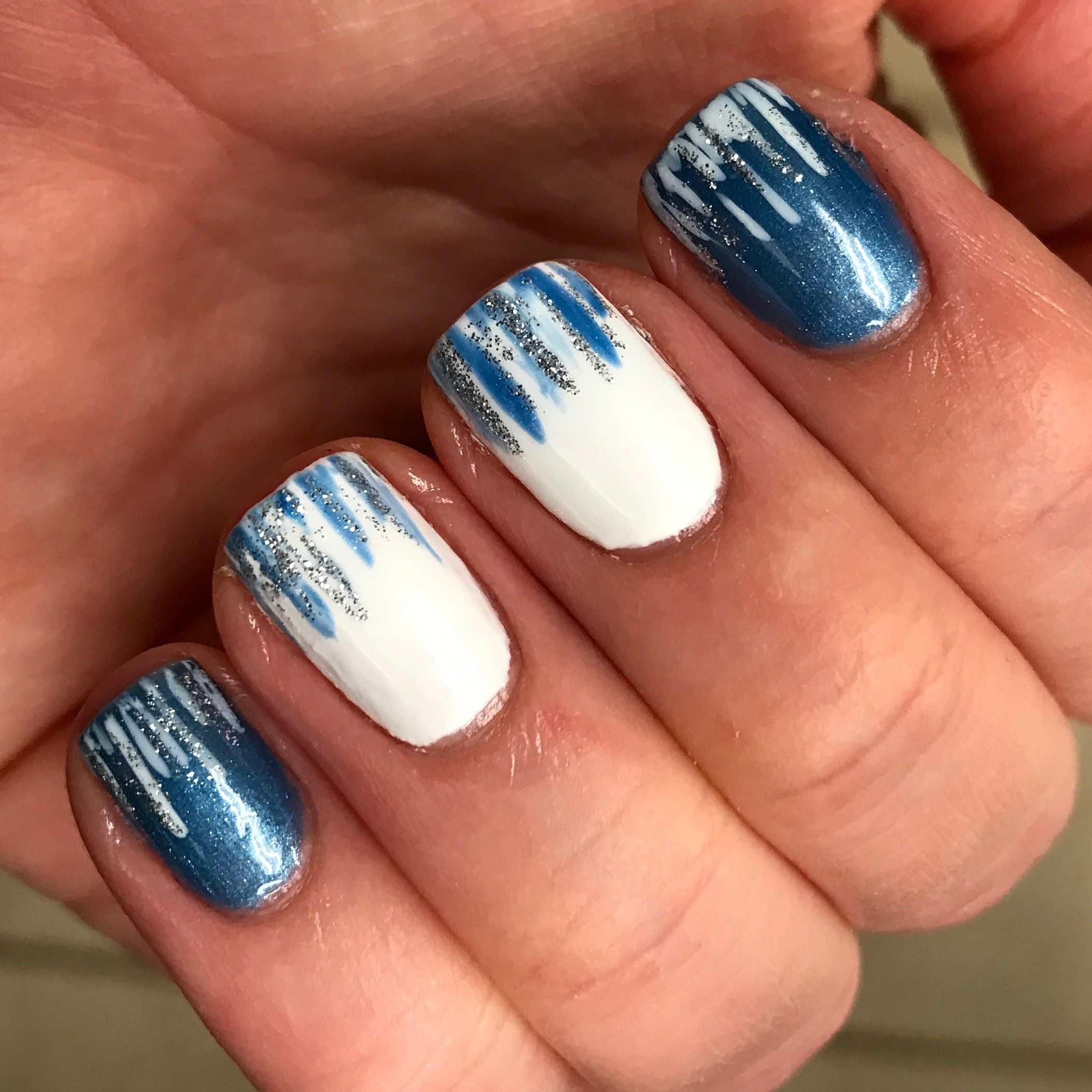 Nail designs. Winter nails. Shellac nails. Gel polish ...