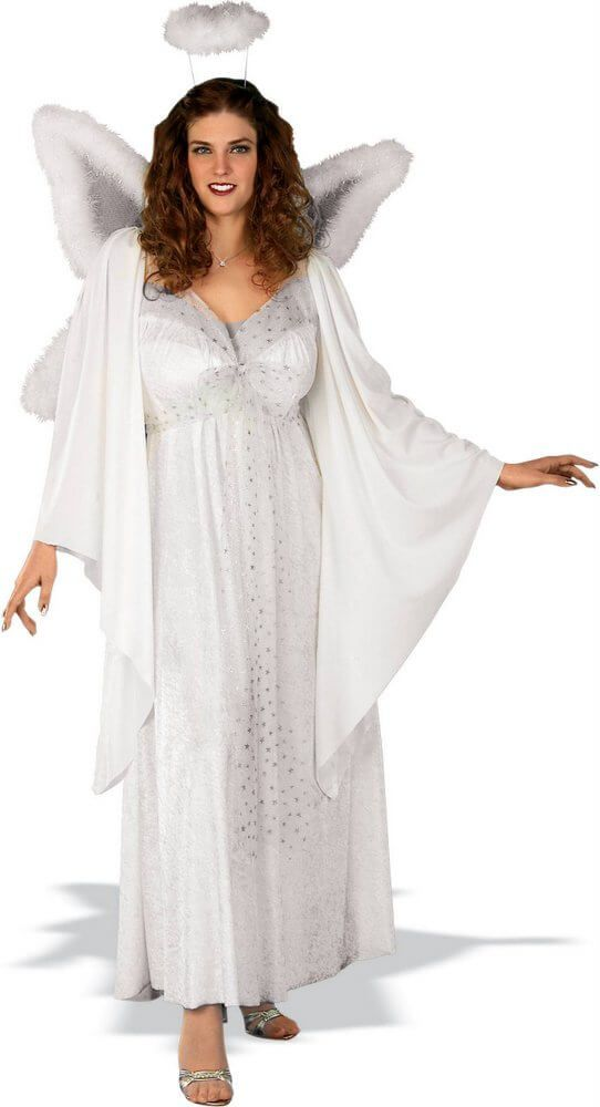 Plus Size Angel Costume - Candy Apple Costumes - Christmas Costumes - angel halloween costume ideas