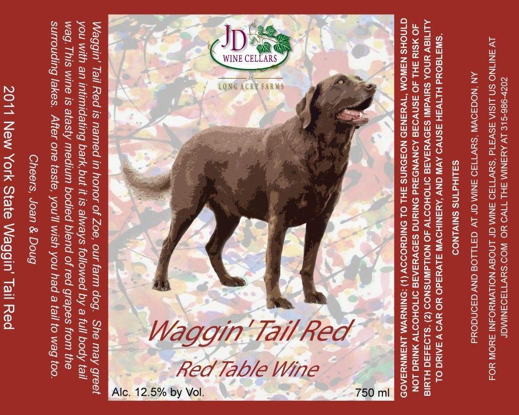 Waggin Tail Red Cab Sauv Dechaunac Blend Earthy Undertones Dry Finish Www Jdwinecellars Com Fruit Wine Macedon Earthy