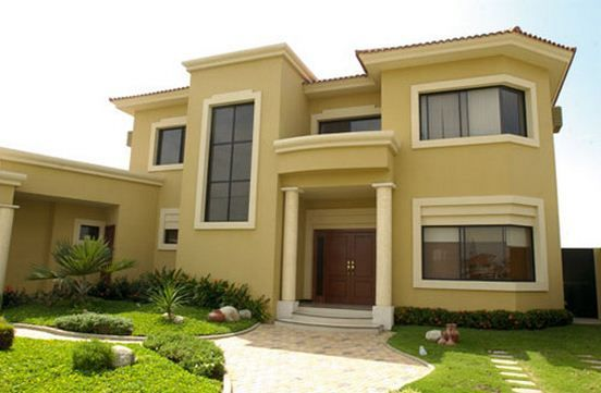 carta de colores para fachadas de casas planos de casas