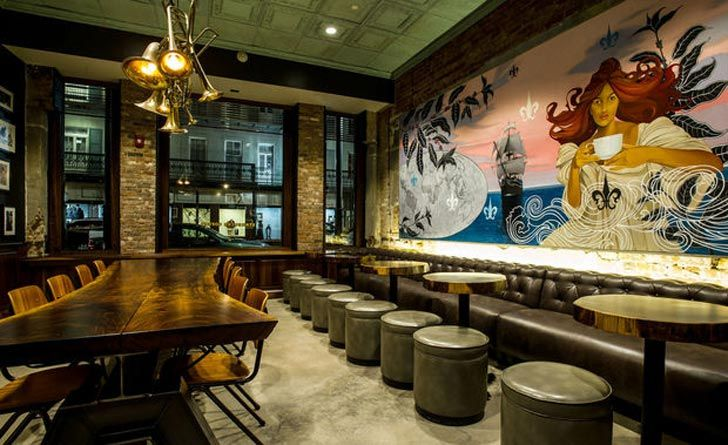 Luxurious New Starbucks In Orleans Inspired By 1900s Merchant Stores