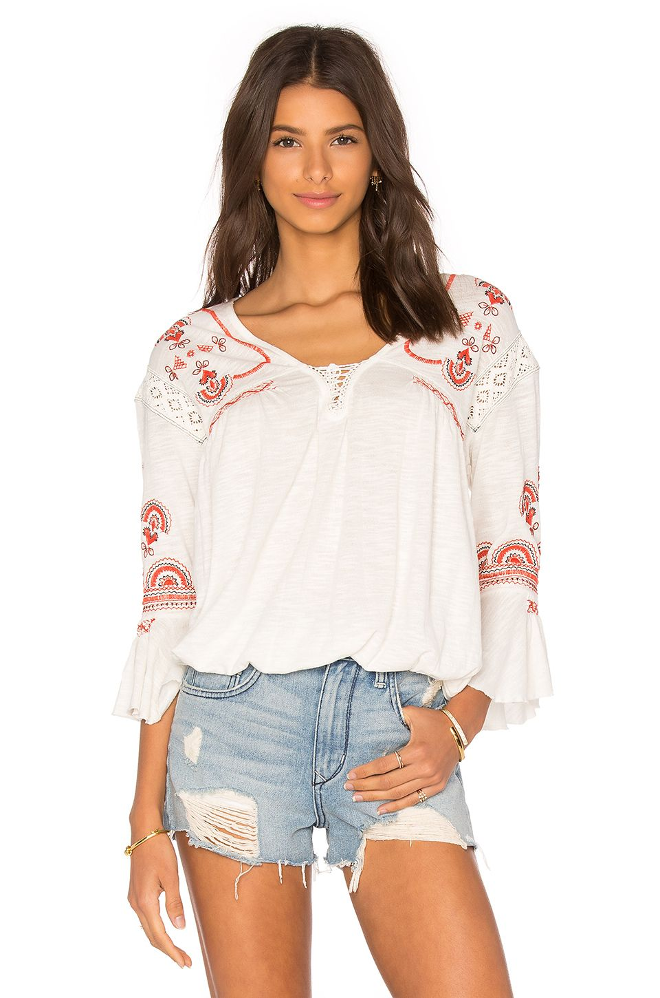 best sell classic style best loved REVOLVE - cute boho top   My closet   Tops, Boho tops, Free people