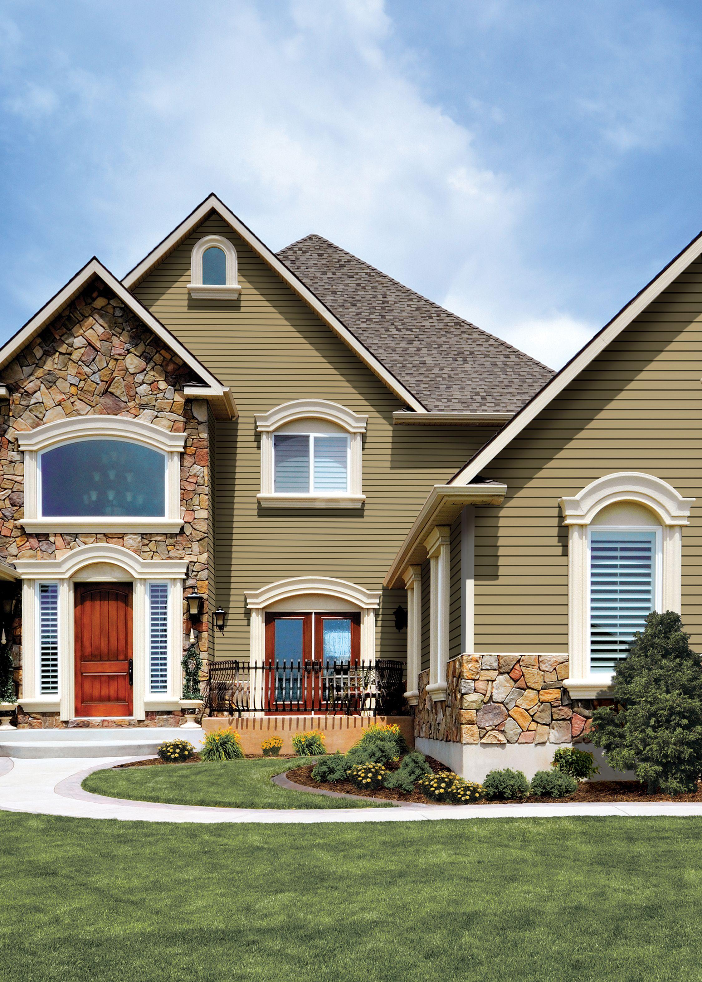 Certainteed Siding Monogram Suede Certainteed Siding House Siding House Exterior