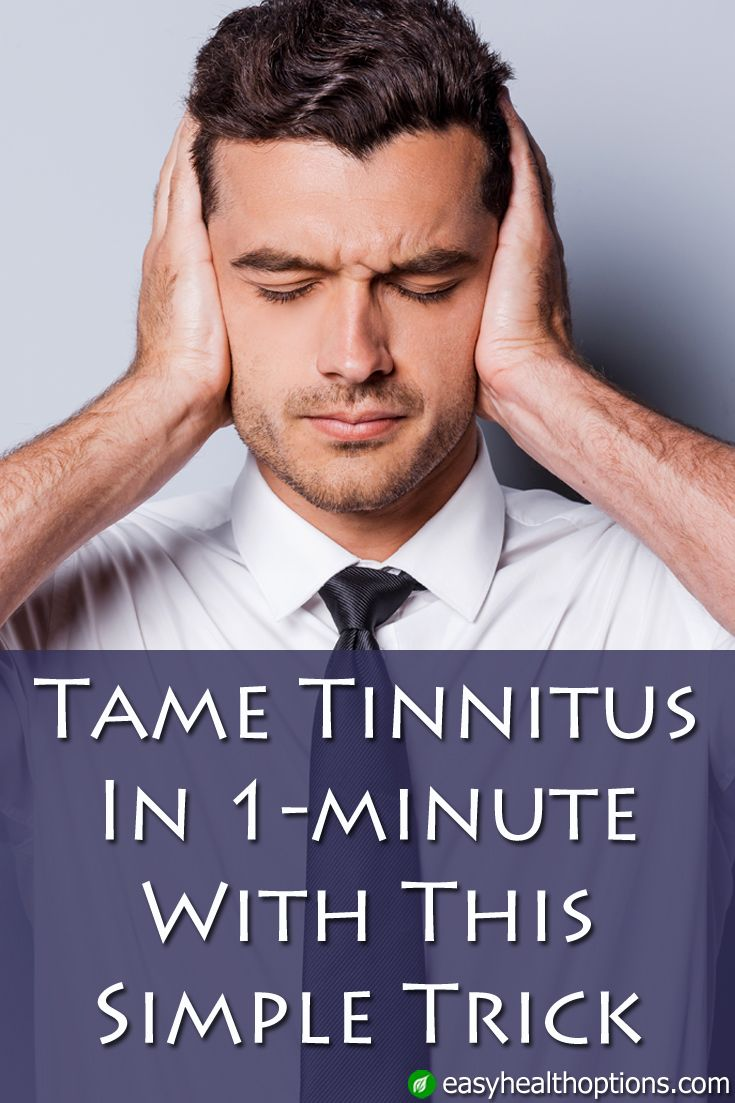tame tinnitus in 1 minute with this simple trick healthy living