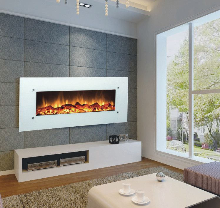 Touchstone 50 Electric Wall Mounted Fireplace Wall Mounted