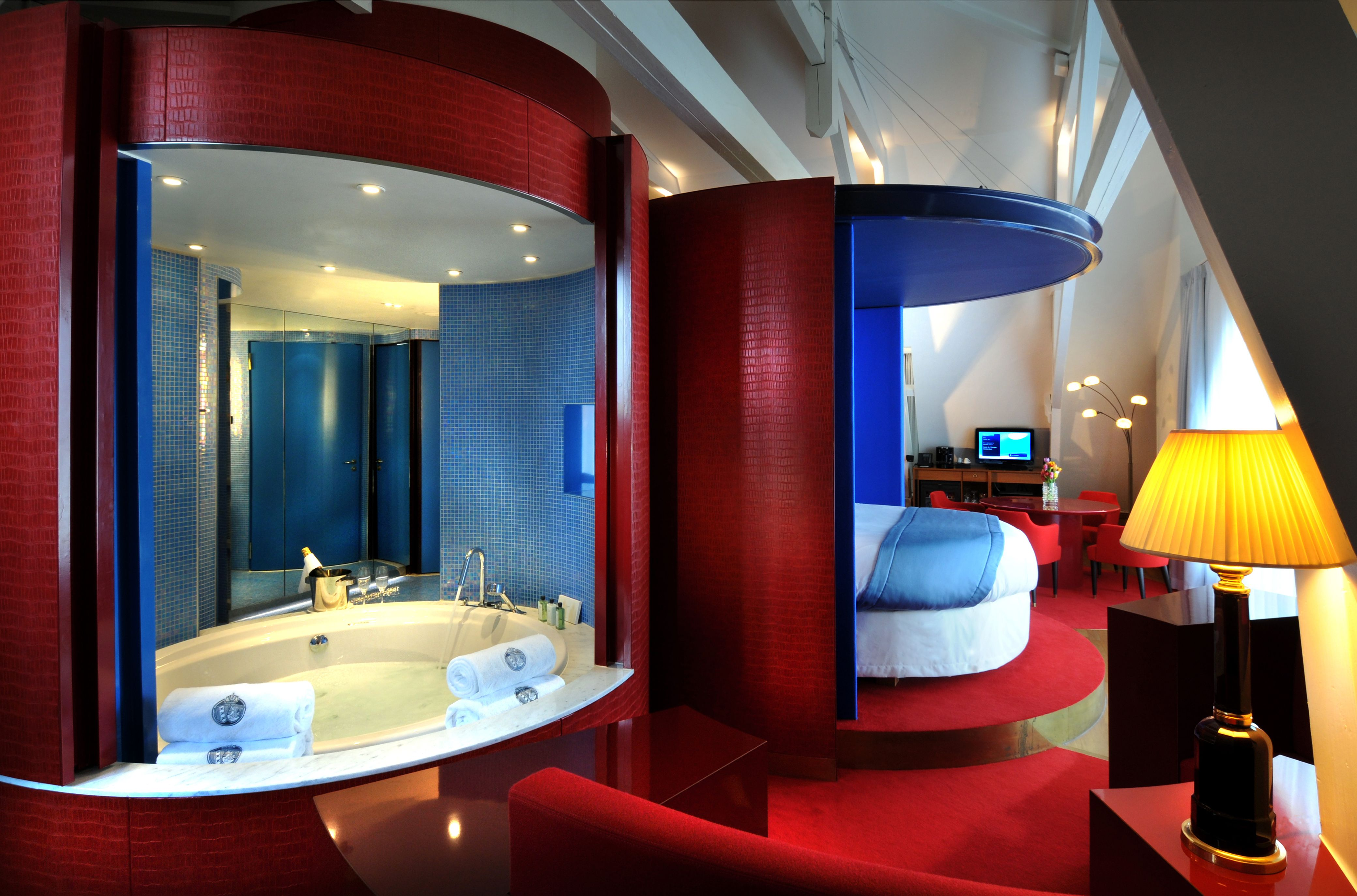 Trendy and modern Provocateur Suite at the Hotel De L\'Europe in ...