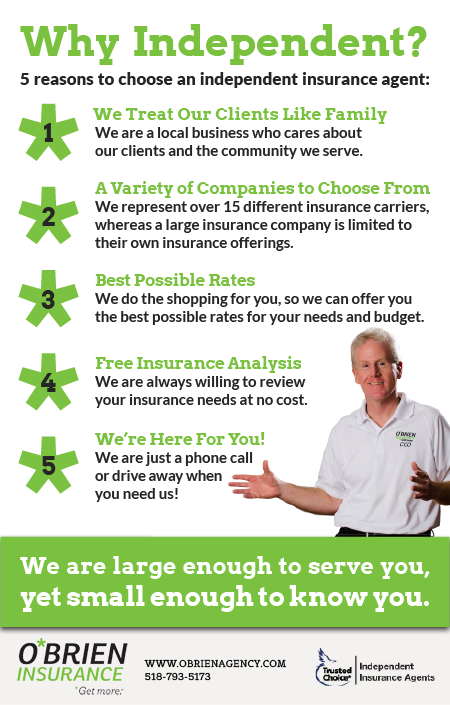 Pin By O Brien Insurance Agency On Insurance Independent