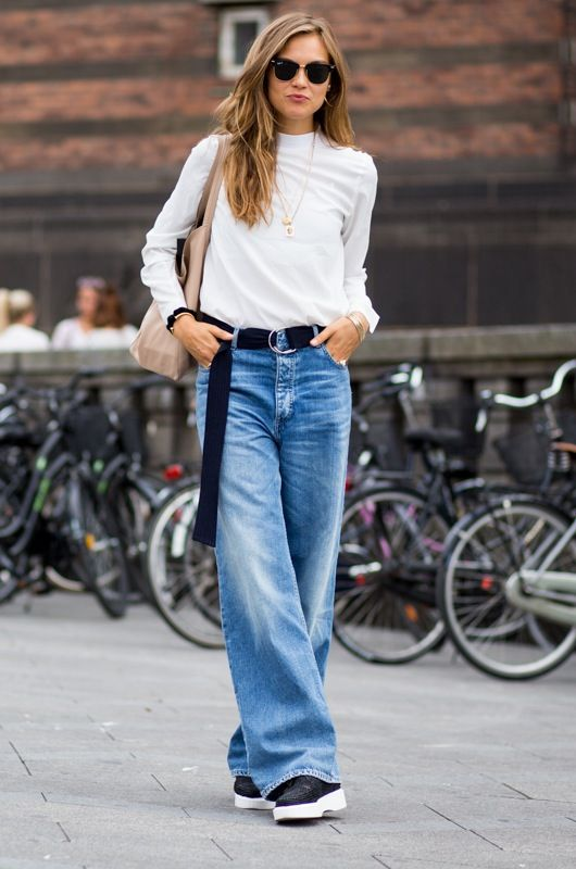 7 COOL WAYS TO WEAR BAGGY JEANS | bags and styles | Pinterest ...