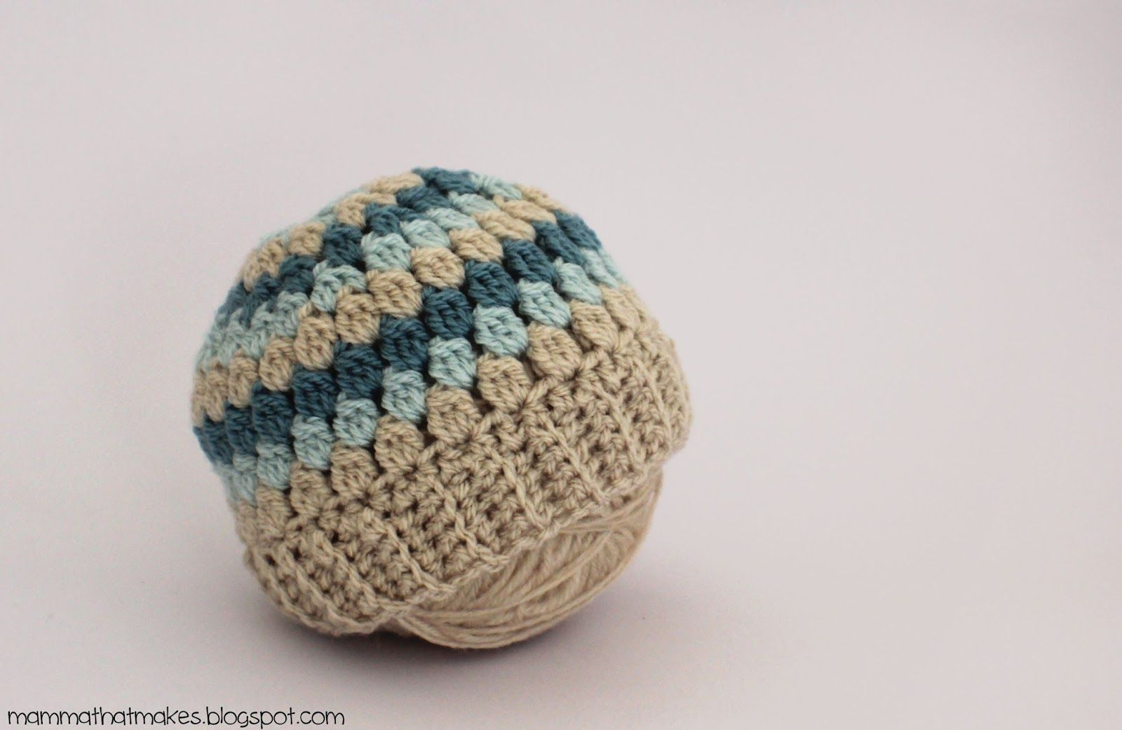 The Amira Preemie Beanie, a free crochet pattern designed by ...