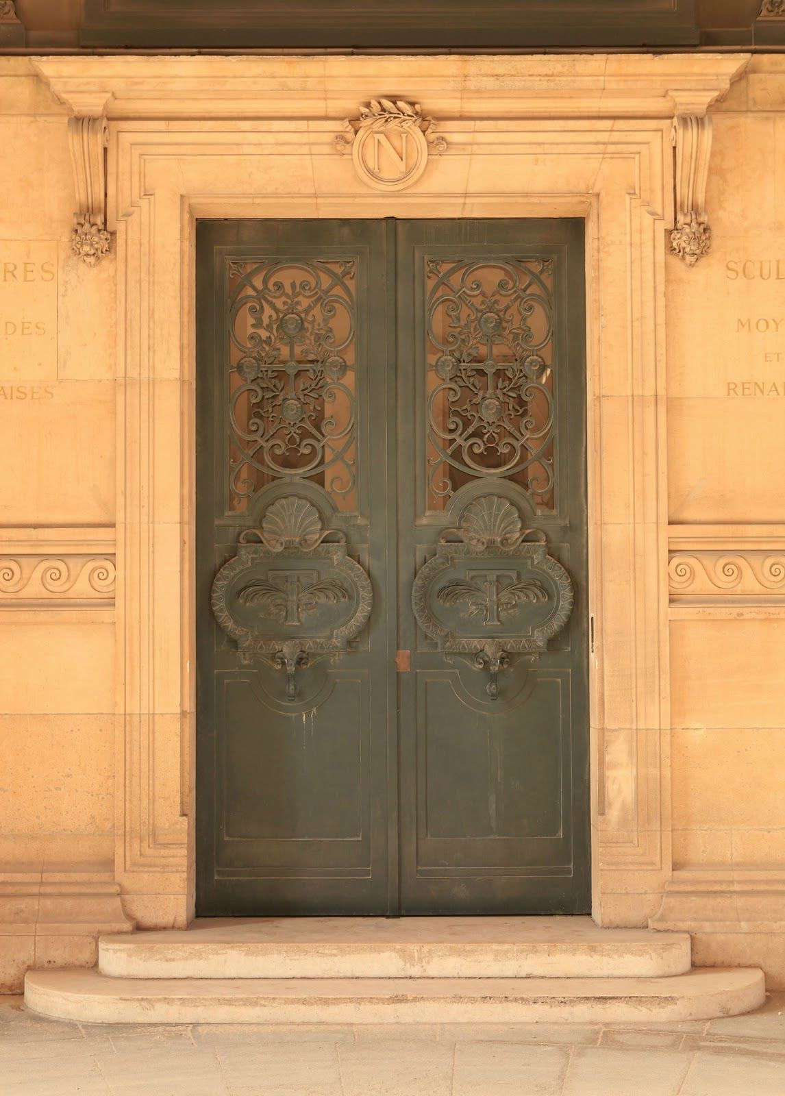 French Larkspur Wandering The Streets Of Paris Unique Doors Gorgeous Doors Doors Galore