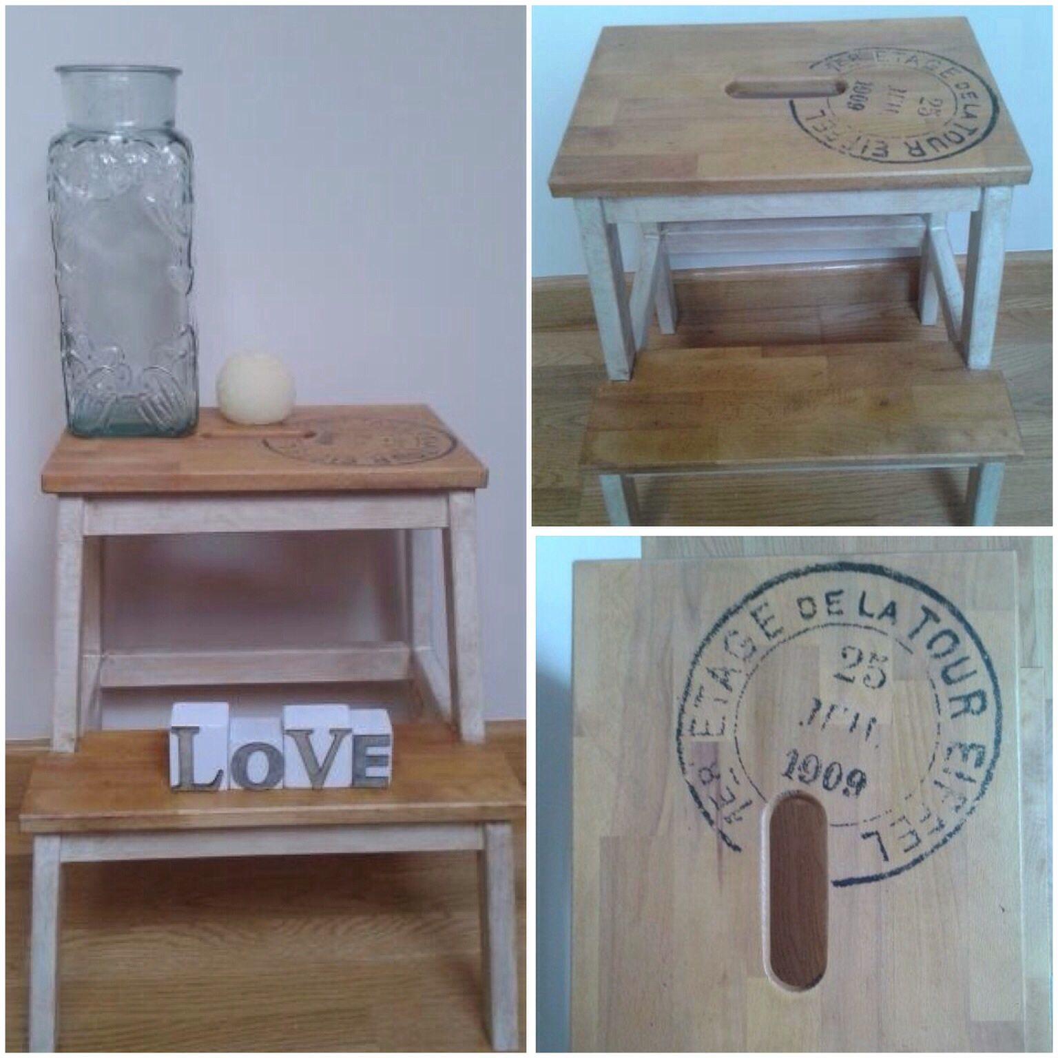 Ikea hack mueble bekväm con transfer y pintura. DIY | diy ...