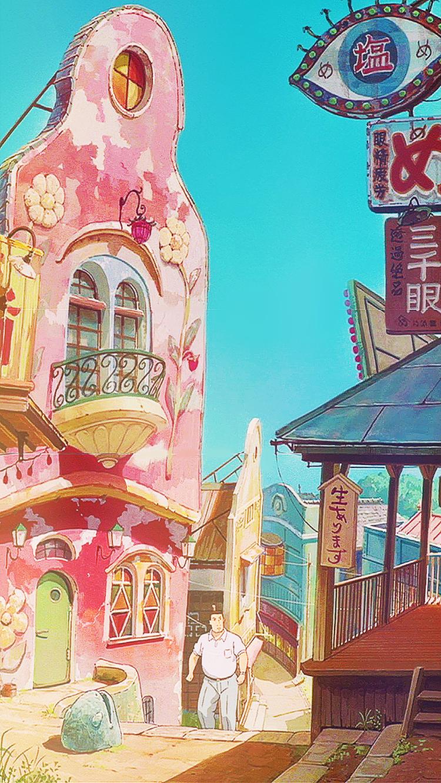 Just Put Your Hand In Mine Spirited Away Iphone 6 Click For Hi Res Studio Ghibli Art Ghibli Art Anime Wallpaper