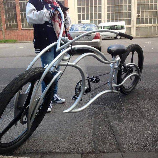 Radikal Kustom Bike Frame Quadriciclo Bike Rebaixada