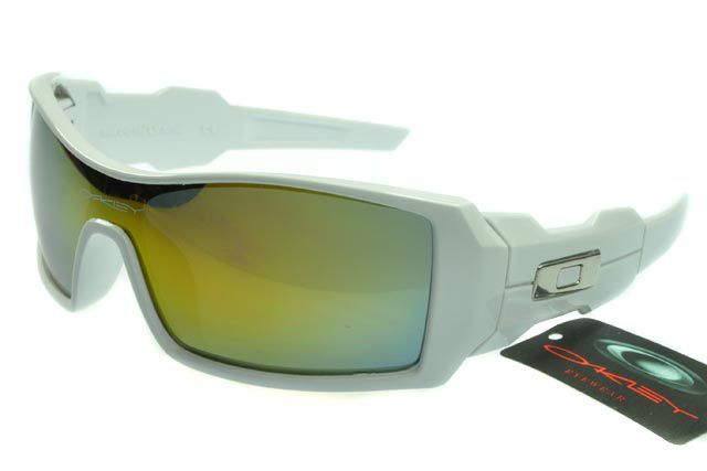Oakley Oil Rig 2 Sunglasses White Frame Lightyellow Lens is the latest  sunglasses in order to