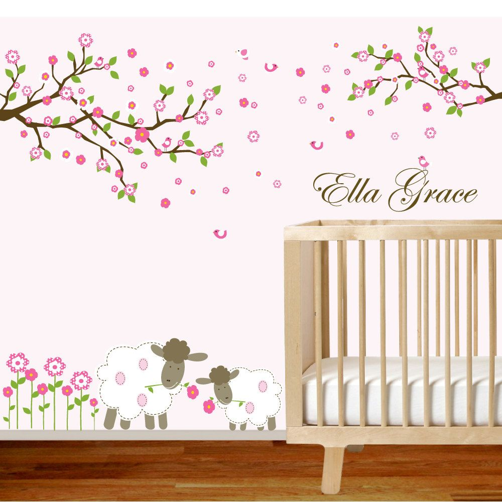 vinyl wall decal branch set nursery wall decal sticker on wall stickers id=49082