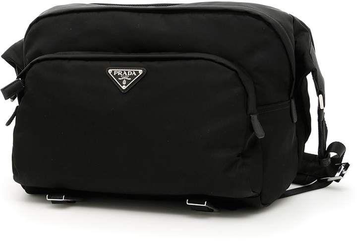 d383f09535 Prada Nylon Messenger Bag