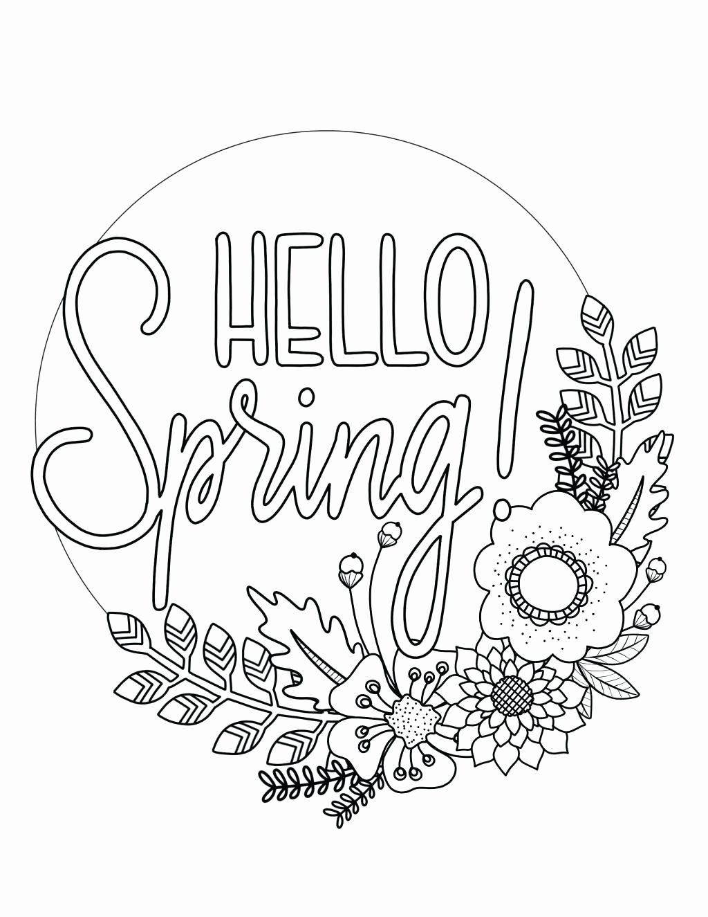 Spring Coloring Sheets For Adults Elegant Free Printable Coloring Pages Spring Flowers Sho Spring Coloring Sheets Spring Coloring Pages Flower Coloring Pages