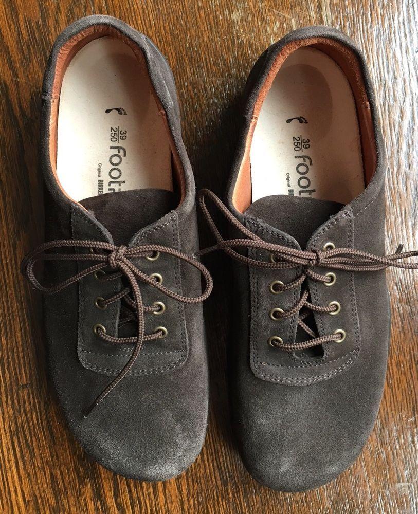 51c258fe6770 Footprints Birkenstock  Padua  Brown Suede Oxford Shoes Women s Size ...